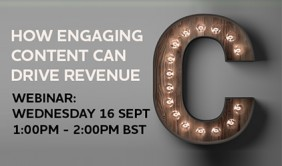 Free Webinar: Content that drives ROI