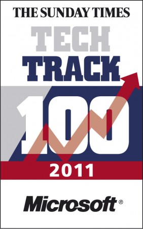 Stickyeyes earns a place in the Sunday Times Tech Track 100