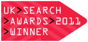 Stickyeyes wins Best Use of Innovation at UK Search Awards