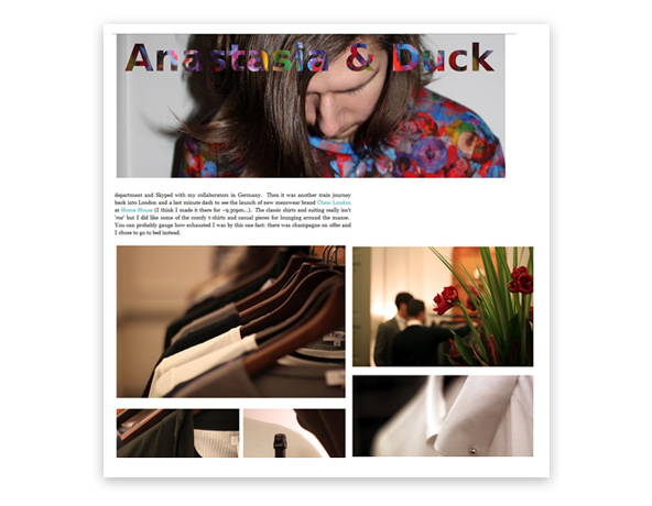 Chess London recensita dal migliore fashion blogger Anastasia & Duck