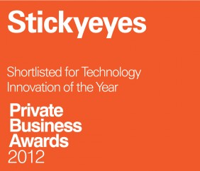 Stickyeyes shortlisted for Technological Innovation in pwc Awards