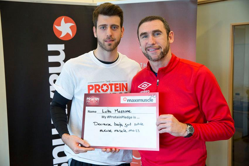 Martin Keown gives his support to Luke