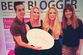 Best British Bloggers sponsors the Cosmo Blog Awards 2013