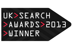 Stickyeyes scoops four at UK Search Awards