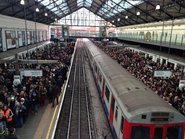London tube strike shows the good and the bad of TFL's social