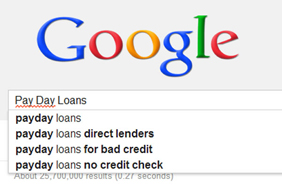 Dirty vs Clean: Variance in the Loans and Payday Loans SERPs, 2013-2014
