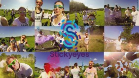 Stickyeyes gets messy at '#ColorMeRad'