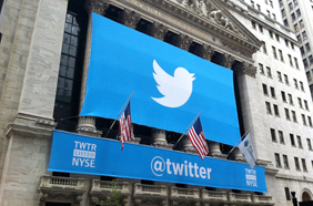 Is this the 'moment' when Twitter halts its share price slide?