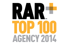 Stickyeyes ranked top 20 in RAR 100 Agencies 2014