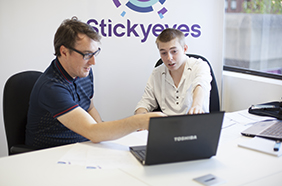 Stickyeyes team gets connected for Cyber Security Month