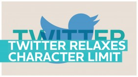 Twitter relaxes its 140 character limit