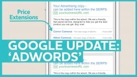 Google AdWords Update: Price Extensions