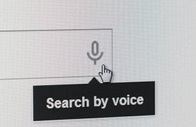 voice search thumb