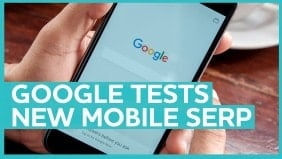 A new mobile SERP spotted, as Google clarifies mobile-first