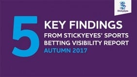 Five key findings from the Stickyeyes Sports Betting Visibility Report