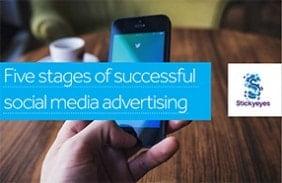 Five stages of successful social media advertising