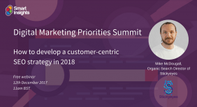 Webinar: How to develop a customer-centric SEO strategy in 2018